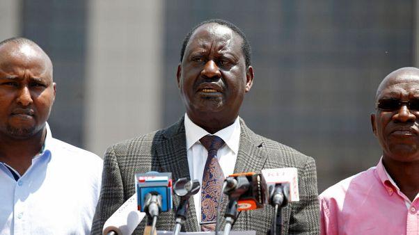 Kenyan opposition leader targets Safaricom staff over election