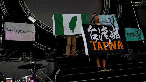 China says Taiwan not a country, Taiwan says China needs reality check