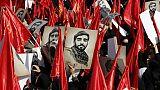 """Foule immense à Téhéran en hommage à un """"martyr"""" tué en Syrie"""