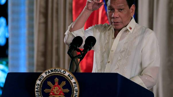 Philippines' Duterte welcomes probe into allegations he hid wealth