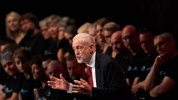 May is driving Britain to cliff-edge Brexit - Labour leader