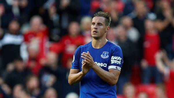 Everton's Jagielka and Keane to miss Limassol visit