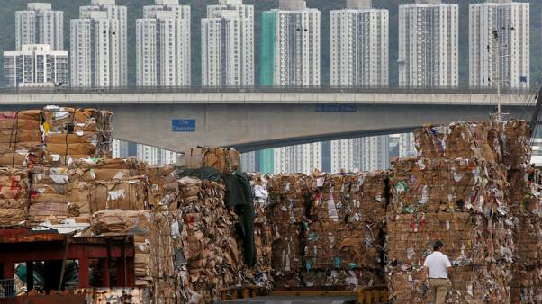 China ban on waste imports leads to piles of paper abroad, surging prices in China