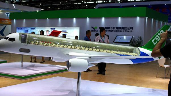 China's COMAC says C919 jet completes second test flight