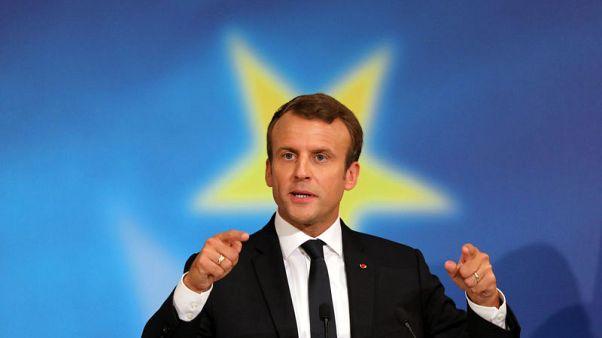 Macron's EU vision faces reality check at Estonia dinner