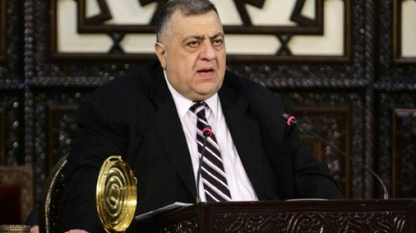 Syrie: un chrétien élu à la tête du Parlement
