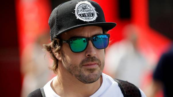 Motor racing-Alonso aiming to decide F1 future before U.S. GP