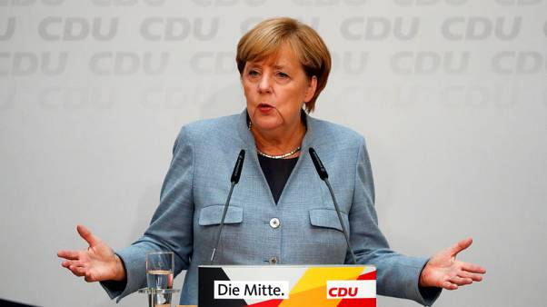 At odds, German conservatives to discuss coalition lines on Oct 8