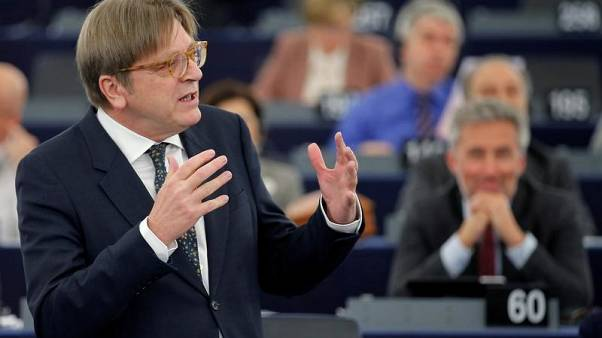 EU's Verhofstadtpokes fun at Theresa May over Brexit