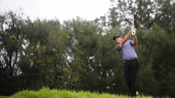 Arnie's grandson Saunders fires 59 in Web.com event