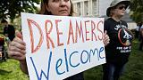 Trump plays left and right in drive to protect 'Dreamers'