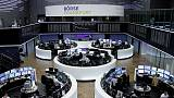 European stocks set for best month this year, Volkswagen falls