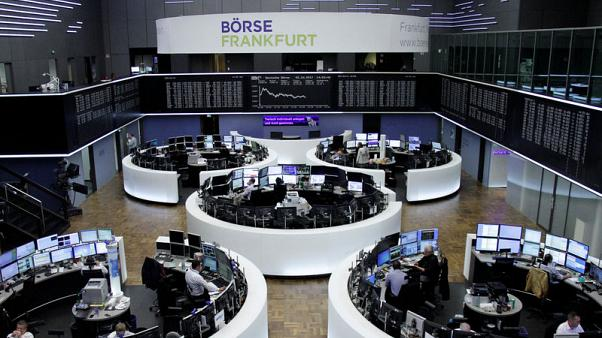 European stocks set for best month this year, Volkswagen falls