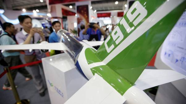 China's C919 jet could do third test flight 'within days' - executive