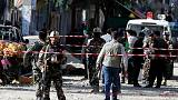 Explosion hits Afghan capital Kabul - interior ministry spokesman