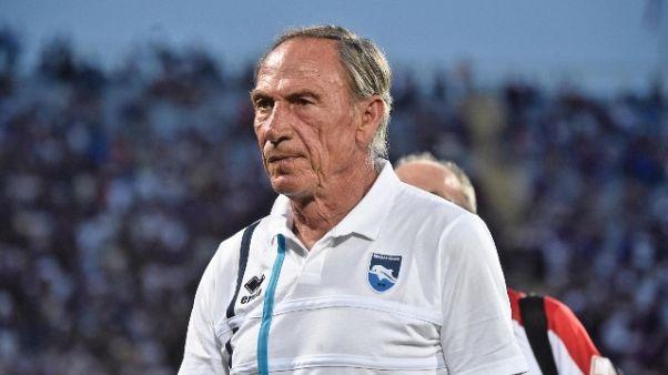 Pescara: Zeman conta assenti col carpi