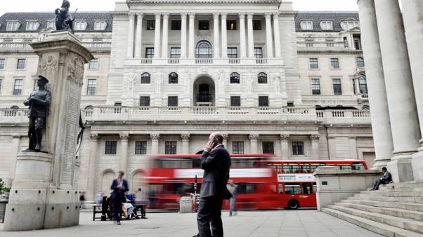 Bank of England warns on draft law for handling failed clearing houses