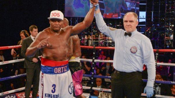 Boxe: le Cubain Ortiz positif avant un combat pour le titre