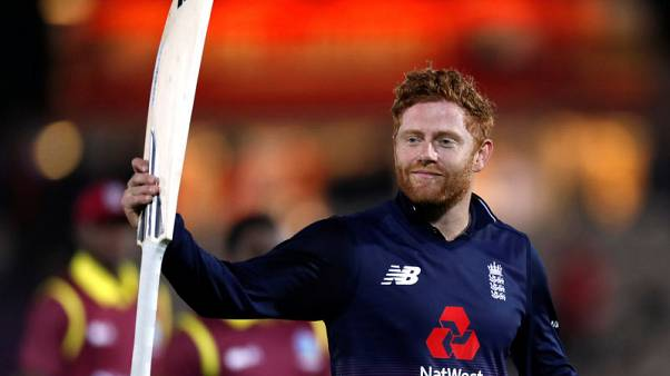 Bairstow hits century to complete England's 4-0 win over Windies