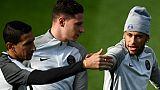 Ligue 1: Silva et Alves sur le banc du PSG, Draxler titulaire face à Bordeaux