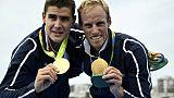 Aviron: les champions olympiques Azou et Houin titrés en deux de couple poids léger