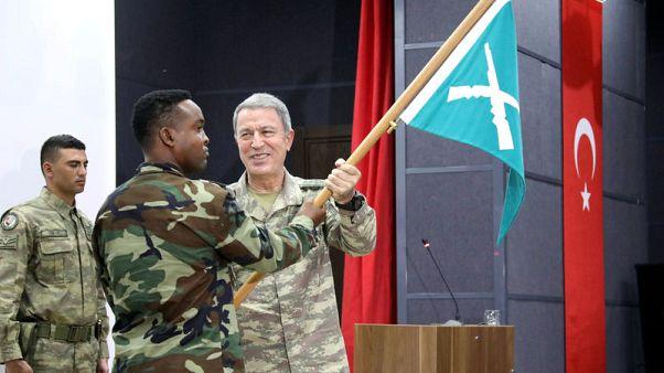 Turkey opens military base in Mogadishu to train Somali soldiers