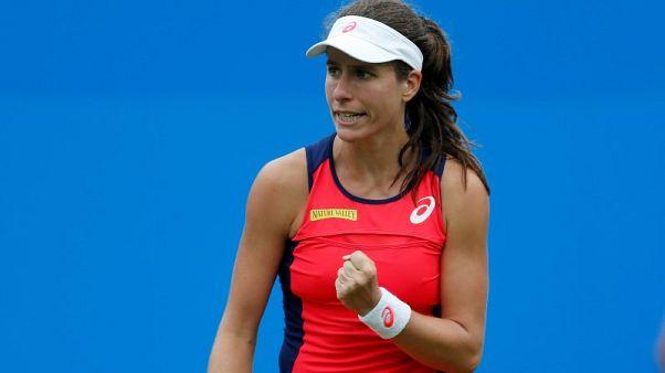 Sharapova takes revenge on Sevastova in Beijing