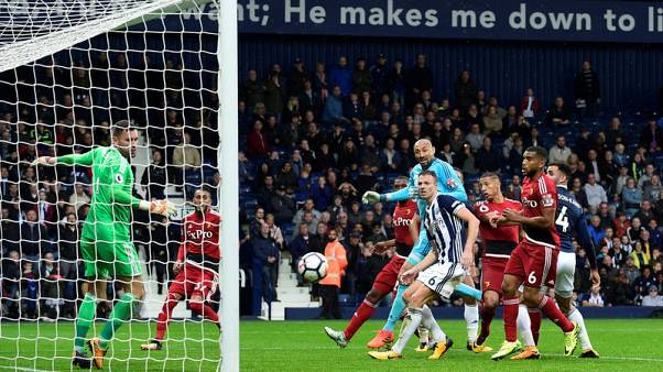 Late Richarlison header earns Watford a point at West Brom