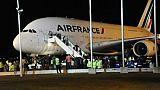Un A380 d'Air France obligé d'atterrir en urgence après une panne moteur