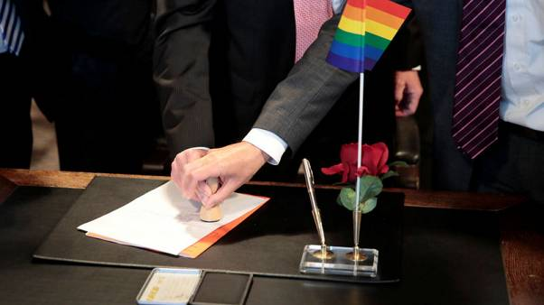 "Germany's first same-sex ""I do""'s as marriage equality dawns"