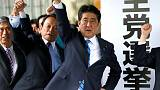 Disapproval rating for Japan PM Abe exceeds support - Kyodo poll