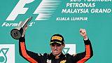 GP de Malaisie: Vettel limite la casse sur Hamilton, Verstappen s'impose