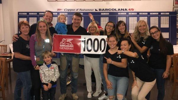 Barcolana: superata quota mille iscritti