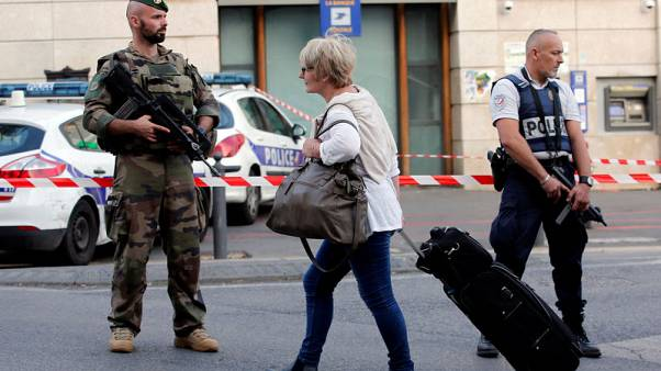 French army shoots man dead after he kills passer-by at train station - police source
