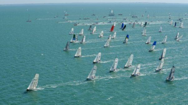 Voile: 81 skippers ont pris le départ de la 21e édition de la Mini-Transat
