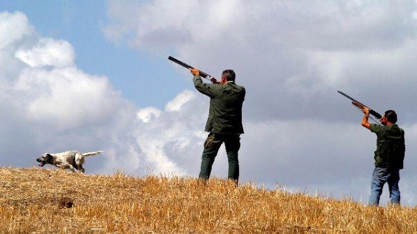 Lite per caccia, fermato sparatore