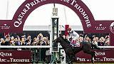 Ippica: Dettori trionfa ancora a Parigi