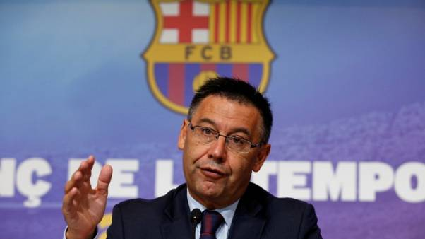 Barca closed stadium to show support for Catalan voters - Bartomeu