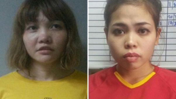 Assassinat de Kim Jong-Nam: les deux accusées plaident non coupable