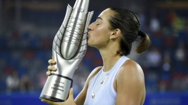 Tennis: Caroline Garcia grimpe au 15e rang du classement WTA