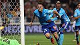 Ligue 1: grand retour de Marseille à Nice