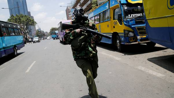 Kenyan police fire teargas at opposition protesters in capital