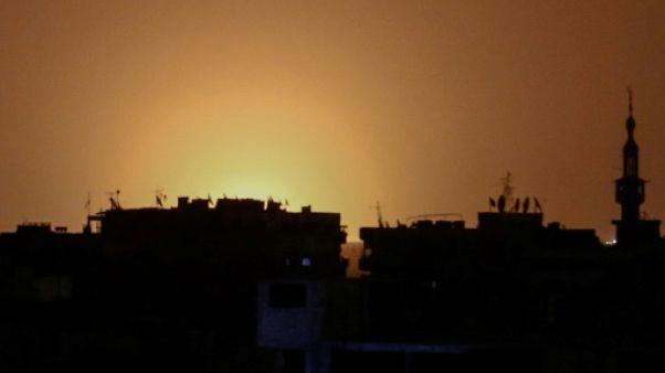 Attentat à la bombe à Damas