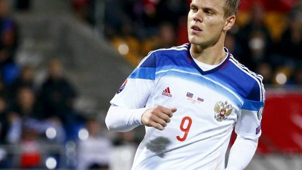 Kokorin called up by Russia after being snubbed for nearly a year