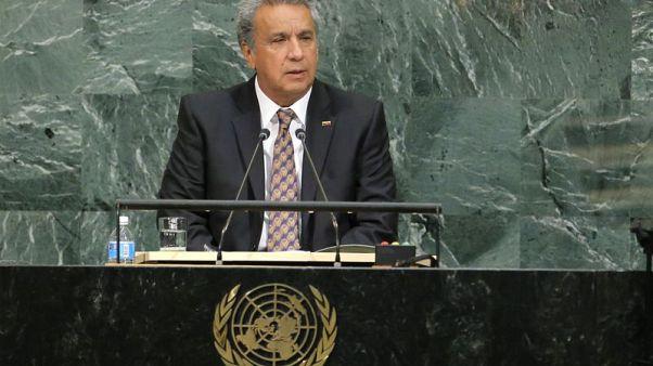Ecuador's Moreno proposes limits on presidential re-election