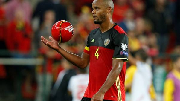 Kompany ruled out of Belgium's World Cup qualifiers