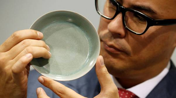 Song dynasty bowl shatters world record for Chinese ceramics, fetches $37.7 million in Hong Kong sale
