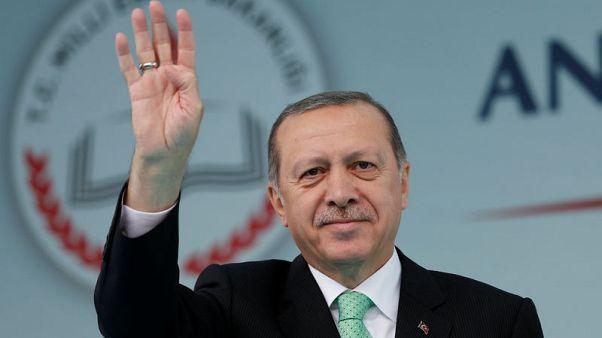 Turkey's Erdogan says will impose further sanctions against northern Iraq