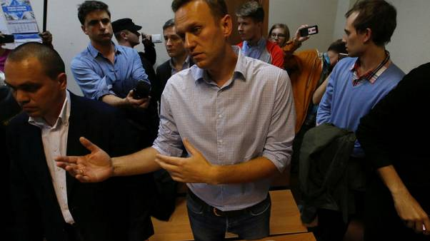 Kremlin tells supporters of detained critic Navalny to shun illegal protests
