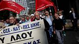 'Shame on you' chant Greek pensioners over bailout cutbacks